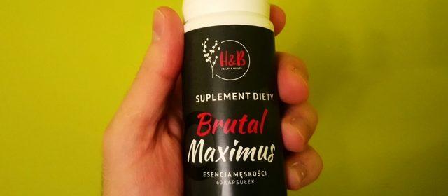 Brutal Maximus sprawność seksualna – recenzja produktu